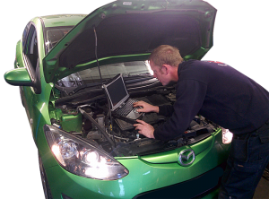 ek service centre vehicle diagnostics